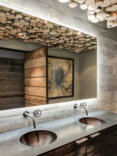 10 idées pour donner un style industriel à votre salle de bain #industrial #bathroom #sdb #WeLoftYou #vasque #valve #robinet http://www.novoceram.fr/blog/news/10-idees-style-industriel-salle-de-bain