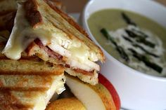 Grilled Brie, Crispy Bacon and Bartlett Pear Panini