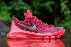"Nike KD 8 ""V-8″ (Bright Crimson)"