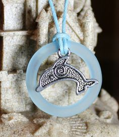 Charity Item Tribal Dolphin with Recycled Bottle Ring benefits Ric O'Barry's The Dolphin Project by GreyGyrl, $20.00