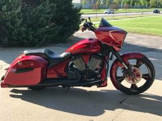 Victory Motorcycles, Indian Motorcycles, Cool Motorcycles, Victory Mc, Victory Cross Country, Harley Bikes, Baggers, Big Wheel, Victorious