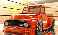 54 Ford Pickup for Sale | Audi Diesel Powers F100 Concept by Vizualtech