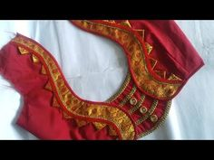 Paithani Saree Blouse design - YouTube