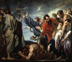 Anton Van Dyck. The serpent of brass