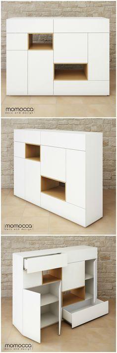 Colección DANIELA. Un aparador minimalista. Se trata de un mueble elegante…