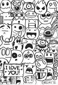 cute doodles characters - Google zoeken