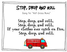 Fire Safety Week Song--SO cute! Perfect for Fire Prevention Week