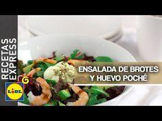 Ensalada de brotes tiernos y huevo poché - Lidl España