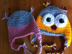EntreHilos y algo más: Como hacer un gorro perrito a crochet (patron para talla 6-12 meses)