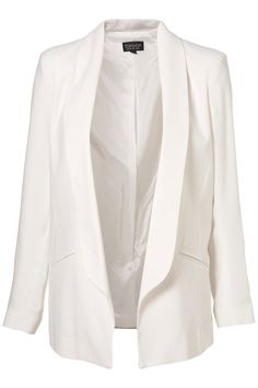 White Topshop blazer