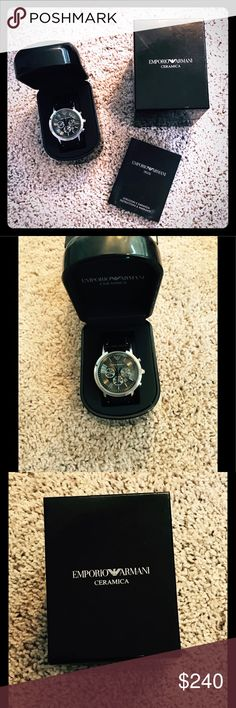 Emporio Armani watch Excellent condition! Comes with original packaging! Authentic! Emporio Armani Accessories Watches