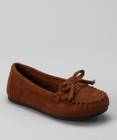 Another great find on #zulily! Tan Tasha-2 Moccasin by Ositos Shoes #zulilyfinds