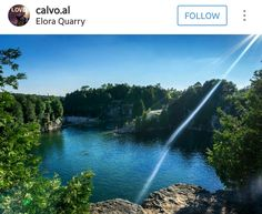 Elora Quarry Waterfall, River, Outdoor, Outdoors, Waterfalls, Outdoor Games, The Great Outdoors, Rivers