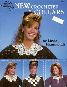 New Crocheted Collars by Linda Hammonds Sailor by ladydiamond46