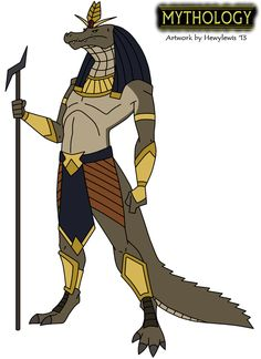 Mythology - Sobek by HewyToonmore on DeviantArt