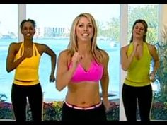 Burn Fat Fast: Cardio Workout -The Chick that host's is really cheesy but I like this because its easy and I can do it in a small space like in front of my computer while I watch it.