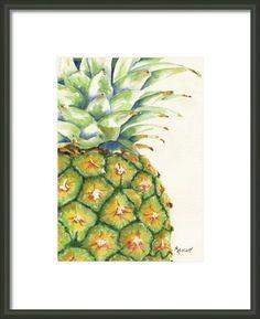 Aloha Framed Print By Marsha Elliott
