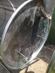 How to Make an Oil Drum BBQ Smoker : 13 Steps (with Pictures) - Instructables Bbq Grill, Grilling, Oil Drum Bbq, Homemade Smoker, Food Truck Design, Stainless Steel Grill, Coffee Signs, Steel Bar