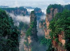 Zhangjiajie: China's National Park.Located in the Hunan province of south-central China.