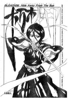 Manga Bleach - Chapter 266 - Page 0 Rukia Bleach, Ichigo Y Rukia, Bleach Manga, One Piece Manga, Studio Ghibli Wallpaper, Manga Art, Manga Anime, Anime Naruto, Bleach Tattoo