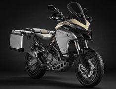 Nova Ducati Multistrada 1260 Enduro: Uma renovação no Off-Road Ducati Multistrada 1200, Ducati 1299 Panigale, Moto Enduro, Enduro Motorcycle, Motorcycle Design, Bmw Scrambler, Tourer Motorcycles, Cool Motorcycles, Motorcycles In India