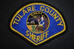 Tulare County Sheriff Patch, California (Vintage)