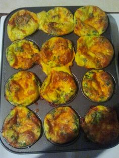 One of our great snack ideas on Ignite 15 Body Transformation System. 8 eggs, 1/2 cup of milk, 1 cup of cheddar cheese, Tbsp of Parmesan Cheese, Baby Spinach(not sure how much just grabbed lol), 1 slice of Lemon...AND 1 Vitamix :) Bake at 350 for 23 minutes ~♥~ ENJOY! #recipe #food