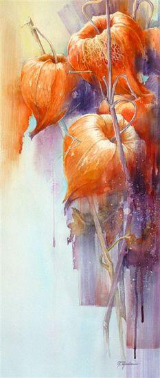 fleur3 by Marie-Claire Moudru #watercolor jd