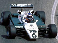 "Keijo Erik ""Keke"" Rosberg (FIN) (TAG Williams Team), Williams FW08 - Ford-Cosworth DFV 3.0 V8  1982  © Williams Grand Prix Engineering Ltd."