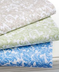 Martha Stewart Collection Ornamental Scroll 300 Thread Count Sheet Sets | macys.com