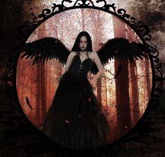 Dark Angel by PlacidAnemia.deviantart.com on @deviantART