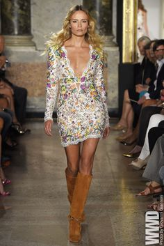 "Emilio Pucci RTW Spring 2015 ""I held a grudge against my parents that I wasn't an adult in the 1970s to actually have fun then,"" Peter Dundas said backstage before the show. For More For all RTW..."