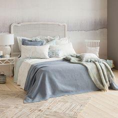 KATOENEN JACQUARD SPREI EN KUSSENHOES - Dekens - Bed | Zara Home Netherlands