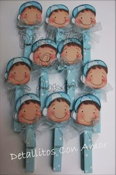 Detallitos para baby Shower ♥