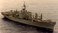 USS White Plains(AFS4)  Supply ship...my first ship