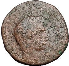 AUGUSTUS 15BC Rome Piso Moneyer Genuine Authentic Ancient Roman Coin i55953
