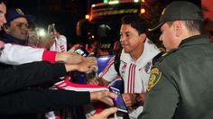 River prepara en Medellín el duelo ante Independiente   River llegó a Medellín cuando en la Argentina ya era madrugada del martes y aquí en Colombia todavía era lunes. Cerca de las once de la noche, M... http://sientemendoza.com/2017/03/14/river-prepara-en-medellin-el-duelo-ante-independiente/