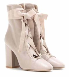 Leather ankle boots | Valentino