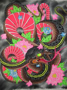 japanese snake flash - Google Search