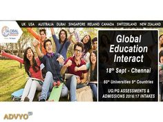 Visit The Global Education Fair 2016 In Chennai Want to apply for higher…