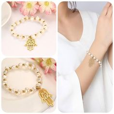 "Make your lady happy in different ways. Our ""Pearl Bracelet"" can be one of them. It's a good idea!!! Isn't it?! 😉💐  👉👉https://beloved-gifts.store/products/hand-bracelet-hamsa-bangle-gold-color-freshwater-pearls #Fashion #Jewelry #Shopping #Deals #Love #Beauty#Art #Necklace #Pendant #learning #educational #games #toys #toddler#Christmas#Women#Men"