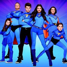 my daughter is crazy about the Thundermans!!