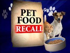 PET FOOD RECALL - Cesar Dog Food!