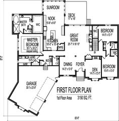 Home Plan Blueprints Angled Canted 3 Car Garage 3100 SF 3 Bedroom 3 Bath Basement Chicago Peoria Springfield Illinois Rockford Champaign Bloomington Illinois Aurora Joliet Naperville Illinois Elgin Waukegan Denver Aurora Lakewood Colorado Springs Fort Collins Vancouver Toronto Canada Montreal Ottawa Seattle Washington DC Spokane Oklahoma City Tulsa Little Rock Arkansas