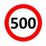 http://www.bubblews.com/news/1634488-article-number-500 speed limit sign 500, 500 limit sign
