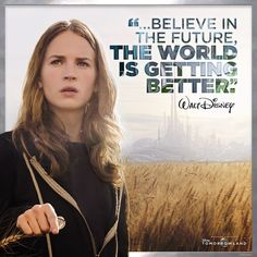 The future is in your hands. #DreamersWanted #Tomorrowland Disney And More, Disney Love, Tomorrowland Film, Walt Disney Quotes, Disney Cast, Walt Disney Animation, Graduation Quotes, Disney Addict, Life Inspiration