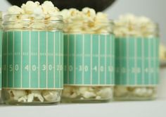 cute ideas for a popcorn party