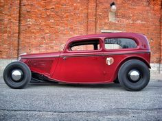 (Rustic Red Tutor Rat Rod)