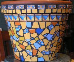 ... Information Mosaic Art Gallery - Australian Mosaics Mosaic Pots