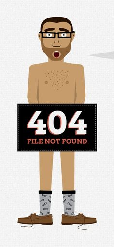 A funny #404 #page design. Wanna take it to your site? :D